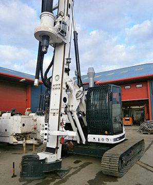 Tes Car CF6 - Colets Piling - Piling Contractor