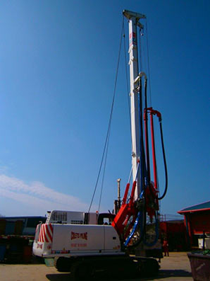 Casagrande B125XP arrives in UK - Colets Piling - Piling Contractor
