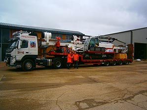 COLETS 40th RIG - Colets Piling - Piling Contractor