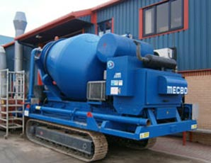 Metbro Track Mixer / Drum added to Hire Fleet - Colets Piling - Piling Contractor