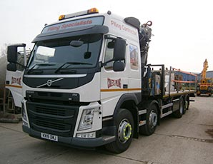 Colets Piling Extend Fleet - Colets Piling - Piling Contractor