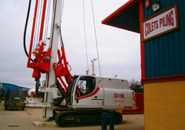 Cassagrande B125XP - Colets Piling - Piling Contractor