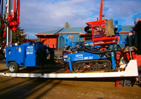 Hutte 203 Wireless operates arrives in UK - Colets Piling - Piling Contractor