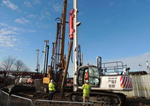 BSP JX Driven Rig - Colets Piling - Piling Contractor