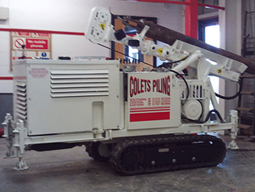 Atlas Driven Rig for Sale - Colets Piling - Piling Contractor, UK