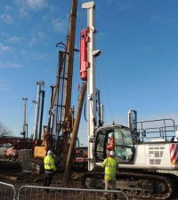 Colets BSP / Driven Rig - Colets Piling - Piling Contractor, UK