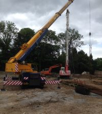 Casagrande B125 - Colets Piling - Piling Contractor, UK
