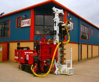 EGT VD210 - Colets Piling - Piling Contractor, UK
