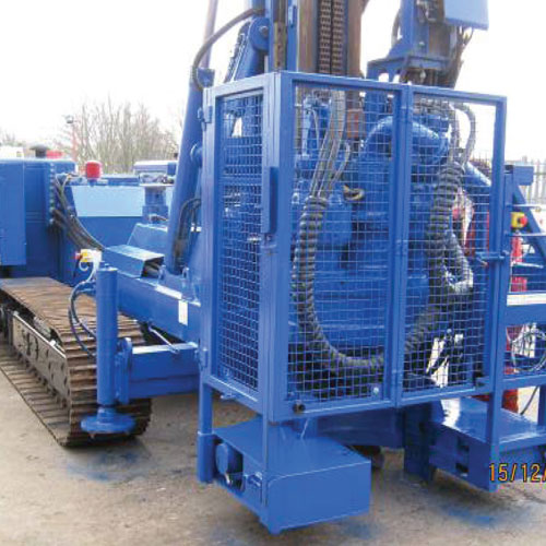 Piling Machines for Hire, Suffolk, UK, Colets Piling