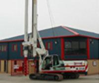 Soilmec 210 - Colets Piling - Piling Contractor, UK
