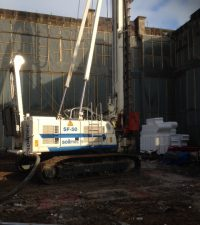 SF50 Piling Machine - Colets Piling - Piling Contractor, UK