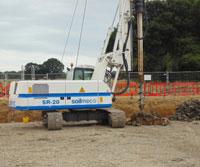 Soilmec SR20 - Colets Piling - Piling Contractor, UK