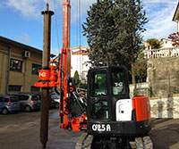 Tes car CF2.5 Plus - Colets Piling - Piling Contractor, UK