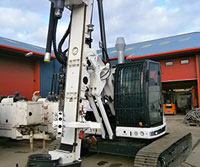 Tes car CF3 CFA - Colets Piling - Piling Contractor, UK