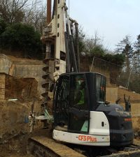 Tes Car CF3 - CFA - Colets Piling - Piling Contractor, UK