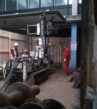 Hutte 203 - Colets Piling - Piling Contractor, UK