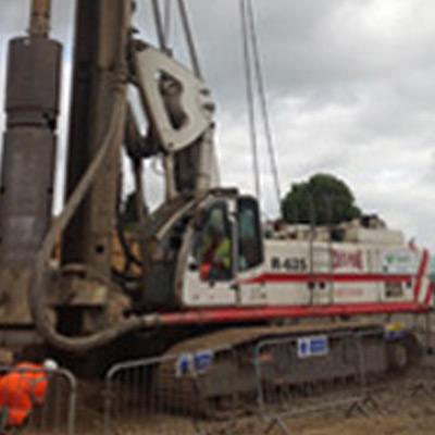 Soilmec R625 - Colets Piling - Piling Contractor
