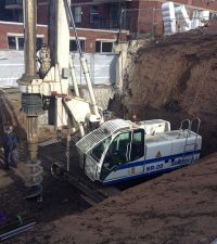 Soilmec SR20 Rig in Action - Colets Piling - Piling Contractor, UK