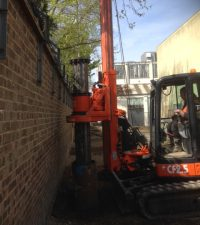 Tes Car 2.5 Rig - Colets Piling - Piling Contractor, UK