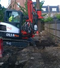 Tes Car CF2.5 Plus Rig - Colets Piling - Piling Contractor, UK