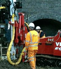 VD210 Piling Rig - Colets Piling - Piling Contractor, UK