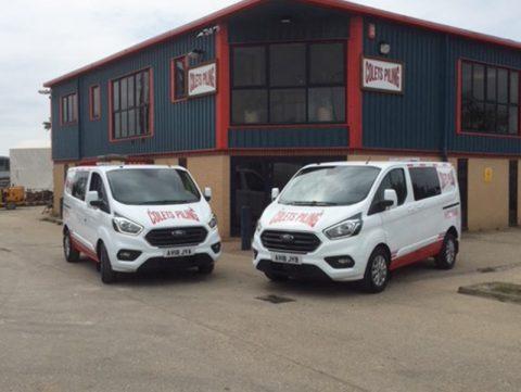 Two new Ford Transit vans arrive for Colets