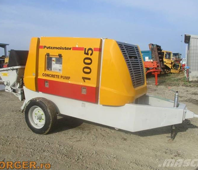 1005 putzmeister by colets piling