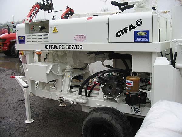 colets piling cifa rig image
