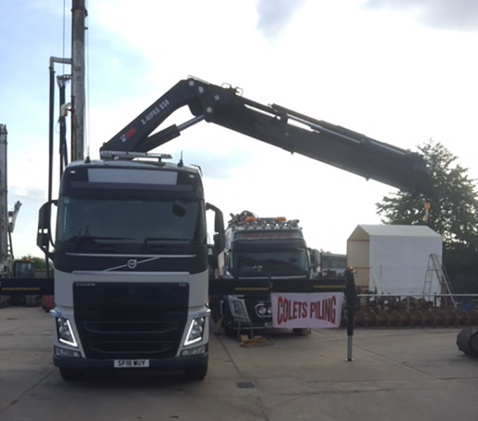 Colets New Truck with 65t/m Crane