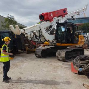 TRITECH BUYS NEW COLETS / BSP RADIO-CONTROLLED PILING RIG