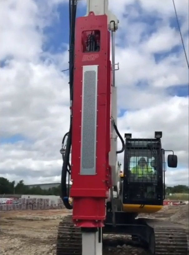 Colets/BSP Driven Rig - Colets Piling - Piling Contractor, UK