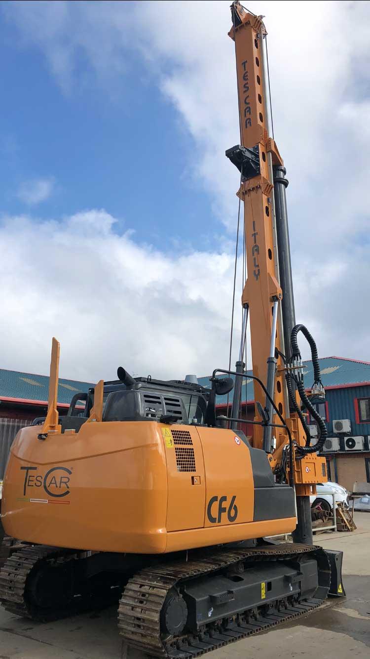 Tescar CF6 - Colets Piling, UK