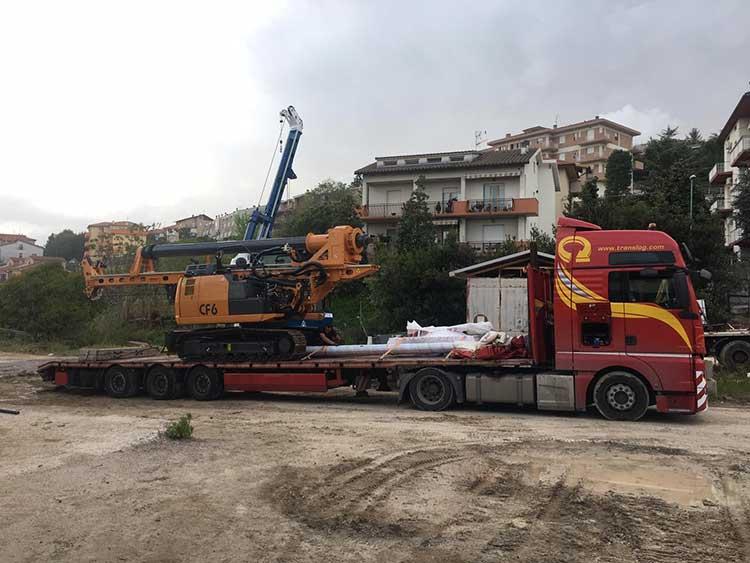 Tescar CF6 - Leaving Italy