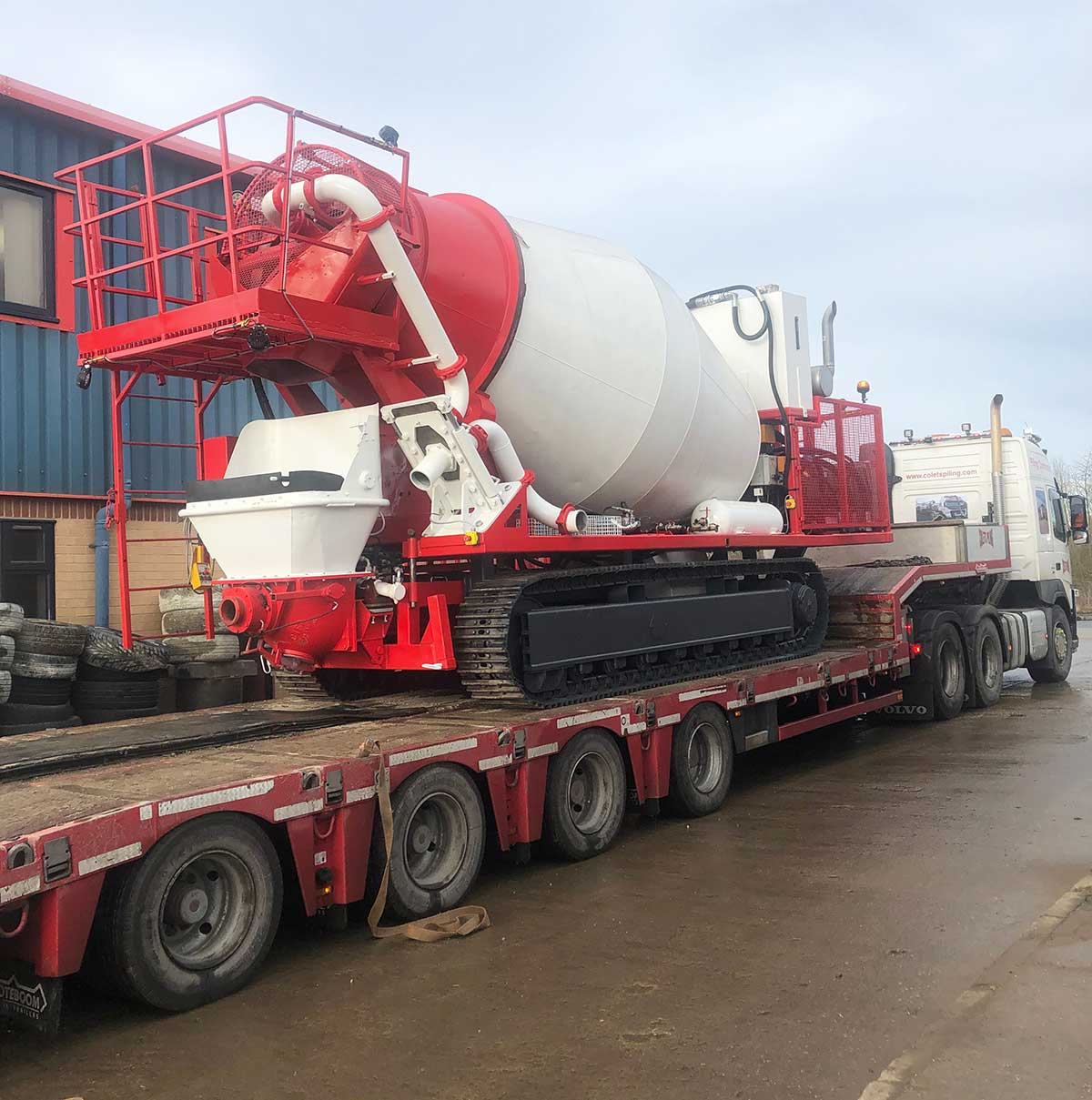 Colets Tracked Drum / Pump
